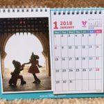 東京ディズニーリゾートならでは実写カレンダー