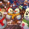 ディズニー・クリスマス : スノースノーにめろめろ