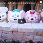 ダッフィー&フレンズ動画:上海ディズニーランドのもふもふ動画をどうぞ~